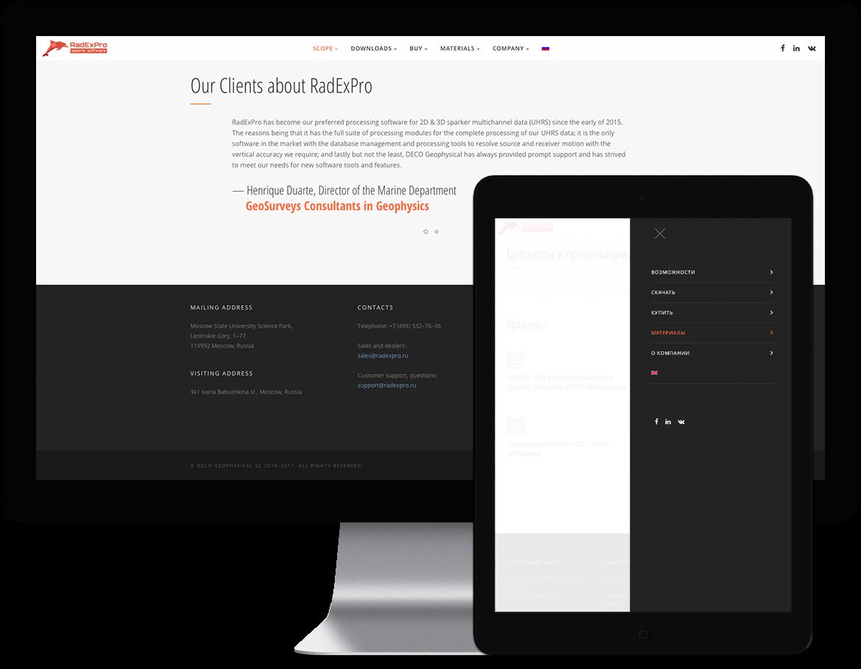 portfolio radexpro site 11